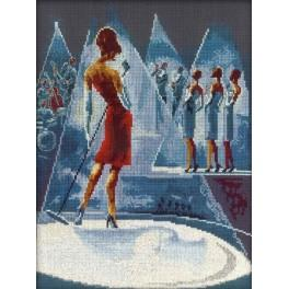 Cross stitch kit - Glamorous women in fabulous places