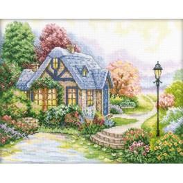 Cross stitch kit - Home, sweet home!