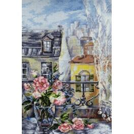 Cross stitch kit - Morning in Paris