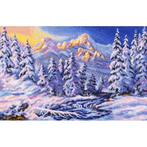 Cross stitch kit - Under a charm of the winter