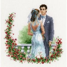 Cross stitch kit - Wedding