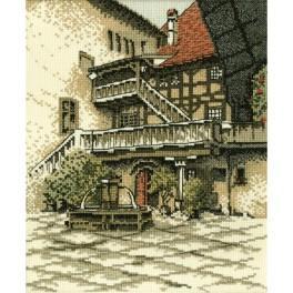 Cross stitch kit - Old city