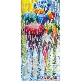 Set with beads - Cheerful umbrellas