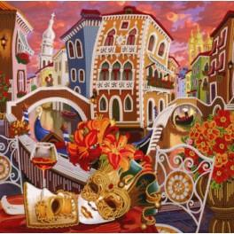 Zestaw z koralikami - Wenecja. Po drugiej stronie lustra.