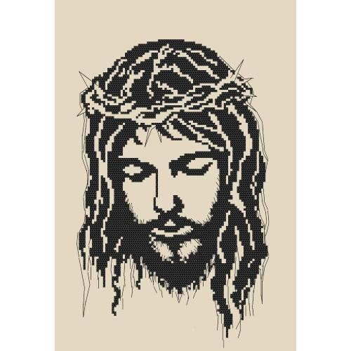 ZK 8400 Kit with beads - Jesus wearing a crown of thorns