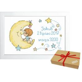 ZP 10071 Gift kit - Birth certificate for boy