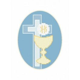 Cross stitch kit - Card - Host