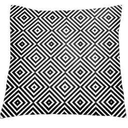 Cross stitch kit - Pillow - Contrast diamonds