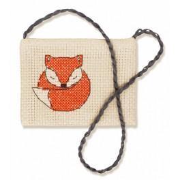 Cross stitch kit - Handbag - Little fox