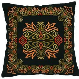 Cross stitch kit - Art Nouveau pillow
