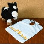 ZU 8441 Cross stitch kit - Bib - Swimming ducks