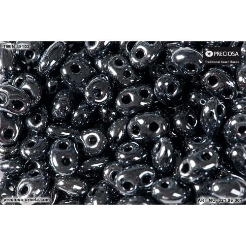 P 49102Twin Preciosa beads Twin (2,5x5mm)