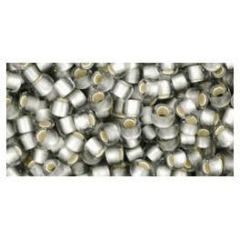 TOHO silver-lined beads 8