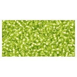 TOHO silver-lined beads 15
