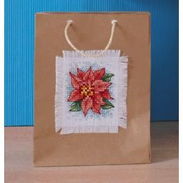 Cross stitch kit - Decorative bag - Poinkittia