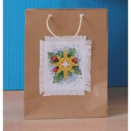 Cross stitch kit - Decorative bag - Star