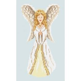 Cross stitch kit - Angel with golden hair
