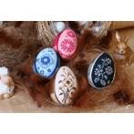 Cross stitch kit - Shaded easter eggs