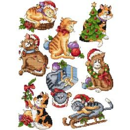Cross stitch kit - Christmas decorations