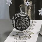 Cross stitch set with a Christmas ball