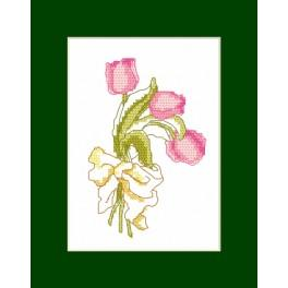 Cross stitch kit - Birthday card