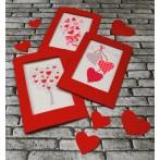 ZUK 8669 Kit with beads - Card - With love