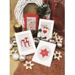 Cross stitch kit - Christmas postcard - Little gifts