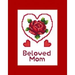 Cross stitch kit - Card - Mother's Day