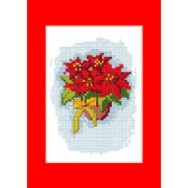 Cross stitch kit - Christmas card - Star of Bethlehem