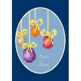 Cross stitch kit - Easter card