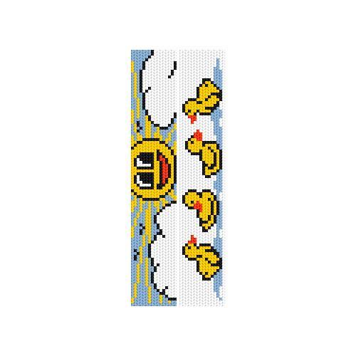 Cross stitch kit - Bookmarks - Summer joy