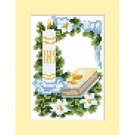 Cross stitch kit - Card - Invitation on Holy communion