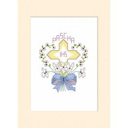 ZI 4357 Cross stitch set wit beads