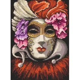 ZI 8223 Cross stitch set wit beads