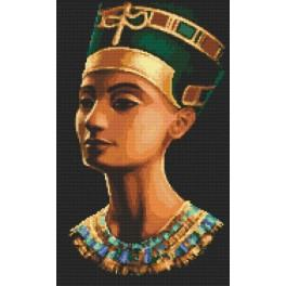 ZI 8245 Cross stitch set wit beads - Nefertiti