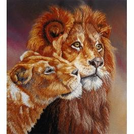 PAJK 2095 Flat stitch kit - Lions