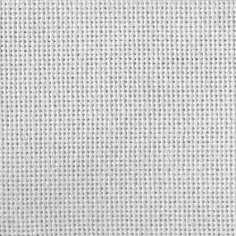 Textile Lugana 25 ct white
