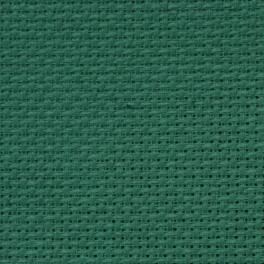 AIDA 54/10cm (14 ct) - sheet 15x20 cm green