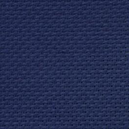 AIDA 54/10cm (14 ct) - sheet 15x20 cm navy blue