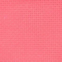 AIDA 54/10cm (14 ct) - sheet 20x25 cm salmon pink