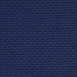 AIDA 54/10cm (14 ct) - sheet 40x50 cm navy blue