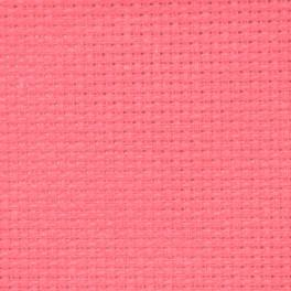 AIDA 54/10cm (14 ct) - sheet 50x100 cm salmon pink