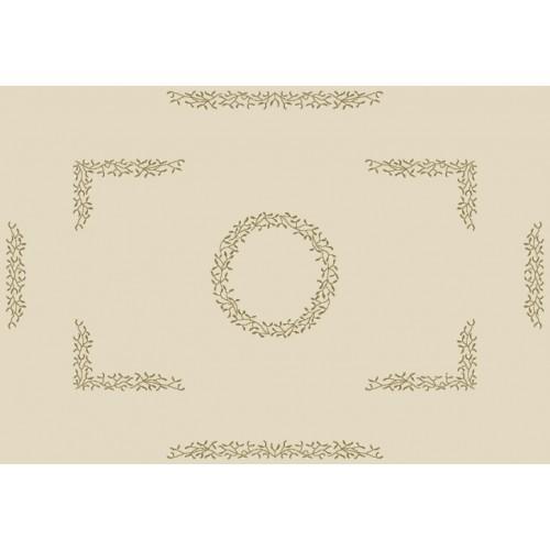 ZU 8500 Cross stitch kit - Tablecloth with mistletoe