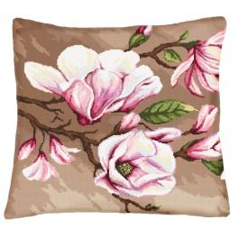 Online pattern - Pillow with magnolias