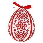 W 8837 Pattern online - Folk easter egg