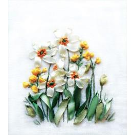 Ribbon set - Spring flowers