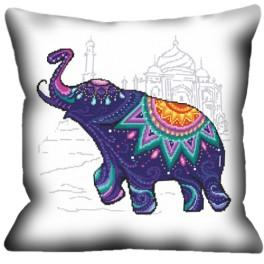 Online pattern - Pillow - Elephant for fortune