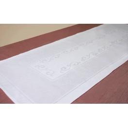 Runner Pola 42x110 cm white