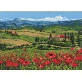 Cross stitch kit - Tuscany