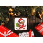 Tapestry canvas - Christmas owl